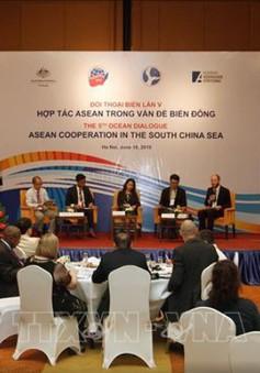 """Đối thoại Biển lần thứ 5 """"Hợp tác ASEAN trong vấn đề Biển Đông"""""""