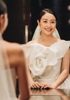 Ngắm cô dâu Phí Linh đẹp dịu dàng trong ngày trọng đại
