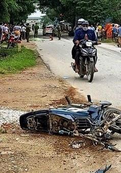Ô tô đâm xe máy tại Thanh Hóa, 3 người thương vong