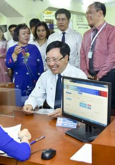 Khai trương Bộ phận Một cửa giải quyết thủ tục hành chính tại Cục Lãnh sự