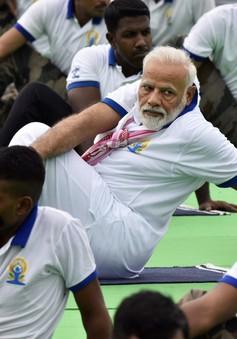 Thủ tướng Ấn Độ cùng tập yoga với hàng chục nghìn người