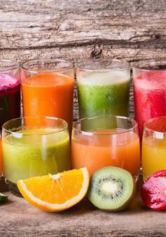 Coi chừng chỉ uống nước ép để giảm cân gây hại cho cơ thế!