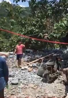 Tái phát nạn khai thác vàng đá trái phép ở tỉnh Quảng Nam.