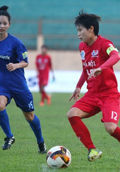 Vòng 5 giải BĐ nữ VĐQG - Cúp Thái Sơn Bắc 2019 (25/6): Đại thắng, Hà Nội gia nhập nhóm đầu