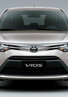 Toyota Việt Nam triệu hồi lần thứ 3 hơn 200 xe Vios