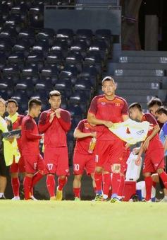 ĐT Việt Nam tập làm quen sân thi đấu, bình thản trước thềm King's Cup 2019