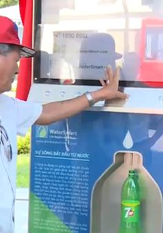 Cây lọc nước công cộng thông minh tại Hà Nội