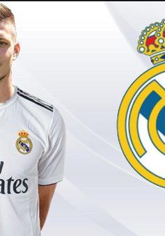 CHÍNH THỨC: Luka Jovic trở thành tân binh đắt giá thứ 3 trong lịch sử Real Madrid