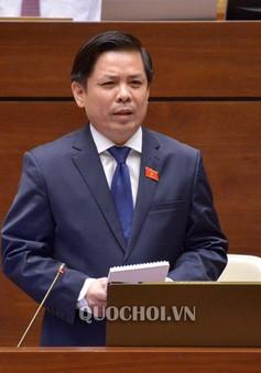 Trả lời chất vấn trước Quốc hội, Bộ trưởng Nguyễn Văn Thể thẳng thắn nhận trách nhiệm với những tồn tại của ngành