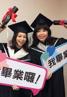 Từ Nhược Tuyên hoàn thành giấc mơ học vấn ở tuổi 44