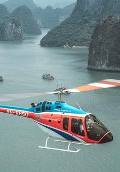 Trực thăng ngắm cảnh vịnh Hạ Long tuyệt đẹp lên CNN