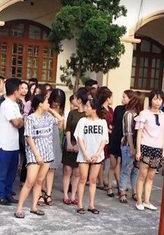 Ninh Bình: Tạm giữ 45 đối tượng sử dụng ma túy trong quán karaoke