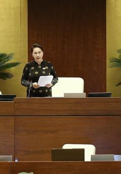 Chủ tịch Quốc hội: Các thành viên Chính phủ đã nghiêm túc, thẳng thắn nhận trách nhiệm