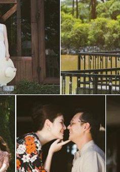 Đan Lê tung bộ ảnh ngọt ngào bên chồng, bật mí mối tình hơn 20 năm với Khải Anh