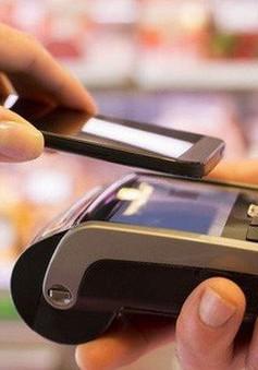 Thanh toán qua điện thoại di động tăng vọt
