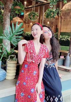 """Lã Thanh Huyền vi vu Bangkok cùng """"cạ cứng"""" MC Thanh Vân Hugo"""
