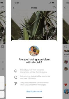 Instagram thêm tùy chọn mới trong mục hạn chế người dùng