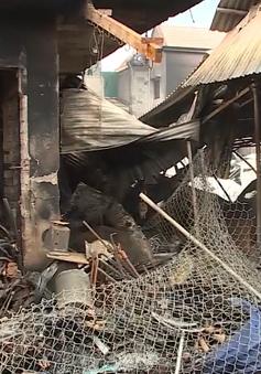 Đăk Lăk: Lửa thiêu rụi 45 ki-ốt ở chợ trung tâm huyện Ea Kar