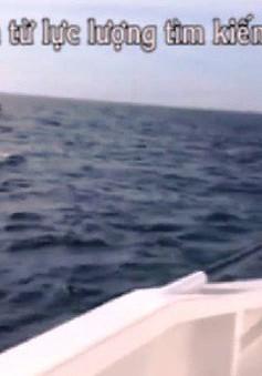 Tiếp tục tìm kiếm 9 ngư dân mất tích trên biển Hải Phòng