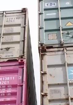 Tình trạng phế liệu nhập khẩu tồn đọng tại cảng biển đã giảm