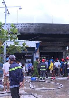 Vĩnh Long: cây xăng bùng cháy, nhiều người hốt hoảng