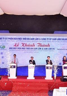 Khánh thành nhà máy năng lượng mặt trời tại Cam Lâm, Khánh Hòa