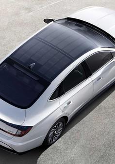 Hyundai ra mắt phiên bản xăng - điện của dòng xe Sonata