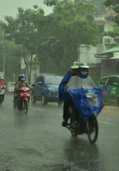 Nam Bộ dự báo mưa trên diện rộng vào chiều nay (24/7)