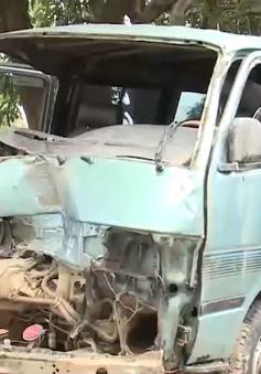 Điều tra làm rõ vụ xe chở lâm sản tông CSGT tại Gia Lai