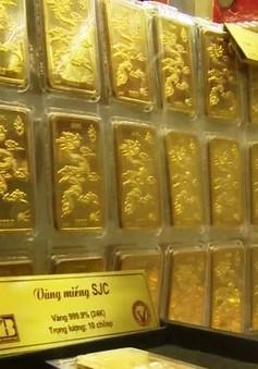 Giá vàng tăng cao nhất trong 4 tháng
