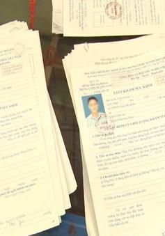 Quảng Ngãi: Bắt đối tượng làm giả hồ sơ khám sức khỏe
