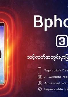 Bphone 3 chính thức ra mắt tại Myanmar