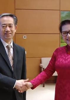Chủ tịch Quốc hội Nguyễn Thị Kim Ngân tiếp Đại sứ Trung Quốc
