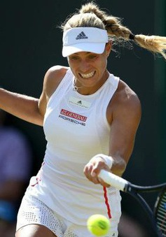Đương kim vô địch đơn nữ Wimbledon Angelique Keber dừng bước tại vòng 2