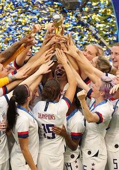 ĐT Mỹ 2-0 ĐT Hà Lan: ĐT Mỹ bảo vệ thành công chức vô địch World Cup bóng đá nữ
