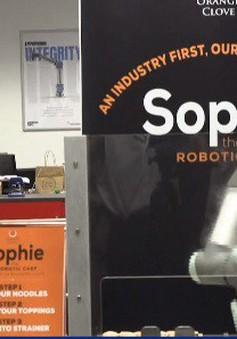Robot đầu bếp tại Singapore