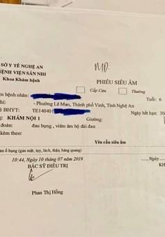 Khẩn trương xác minh thông tin bé gái 6 tuổi ở Nghệ An bị xâm hại khi ở cùng người quen của bố