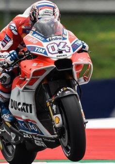 MotoGP: Andrea Dovizioso về nhất tại GP Áo