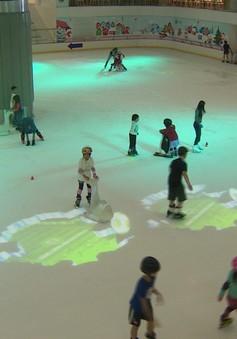 Sân trượt băng trong nhà lớn nhất Việt Nam