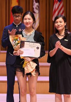 Trao giải cuộc thi Âm nhạc Quốc tế cho Violin và Hoà tấu thính phòng Việt Nam