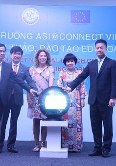 Chính thức khai trương dự án Asi@Connect tại Việt Nam