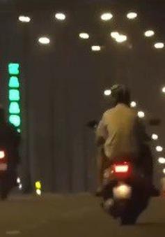 Nhiều hành vi né kiểm tra vi phạm giao thông về đêm