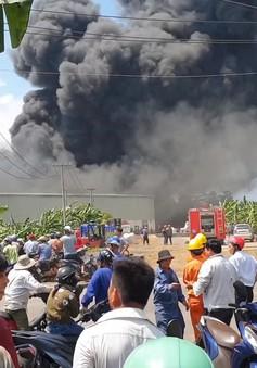Hỏa hoạn ở Đồng Nai nghi do đốt rác
