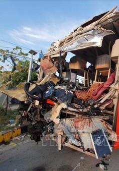 Tai nạn xe khách tại Khánh Hoà, hàng chục người thương vong