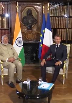 Ấn Độ, Pháp cam kết tự do hàng hải ở Ấn Độ Dương - Thái Bình Dương