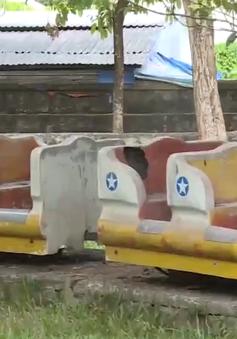 Công viên hàng nghìn m2 tại Thừa Thiên Huế bỏ hoang gây lãng phí