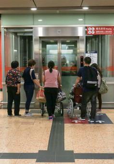 Trung Quốc: thiếu thang máy cho người khuyết tật
