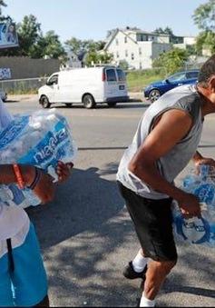 Cảnh báo nước nhiễm chì tại thành phố Newark của Mỹ