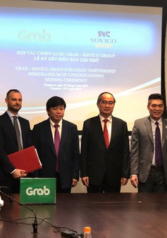 Grab hợp tác chiến lược toàn diện với Sovico Group