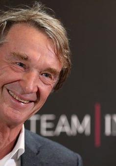 Tỉ phú Jim Ratcliffe tiếp tục mua một CLB thể thao